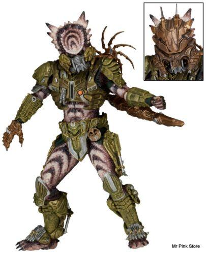 SPIKED TAIL PREDATOR Ultimate Alien Hunter NECA Action Figure 21Cm 16 Series