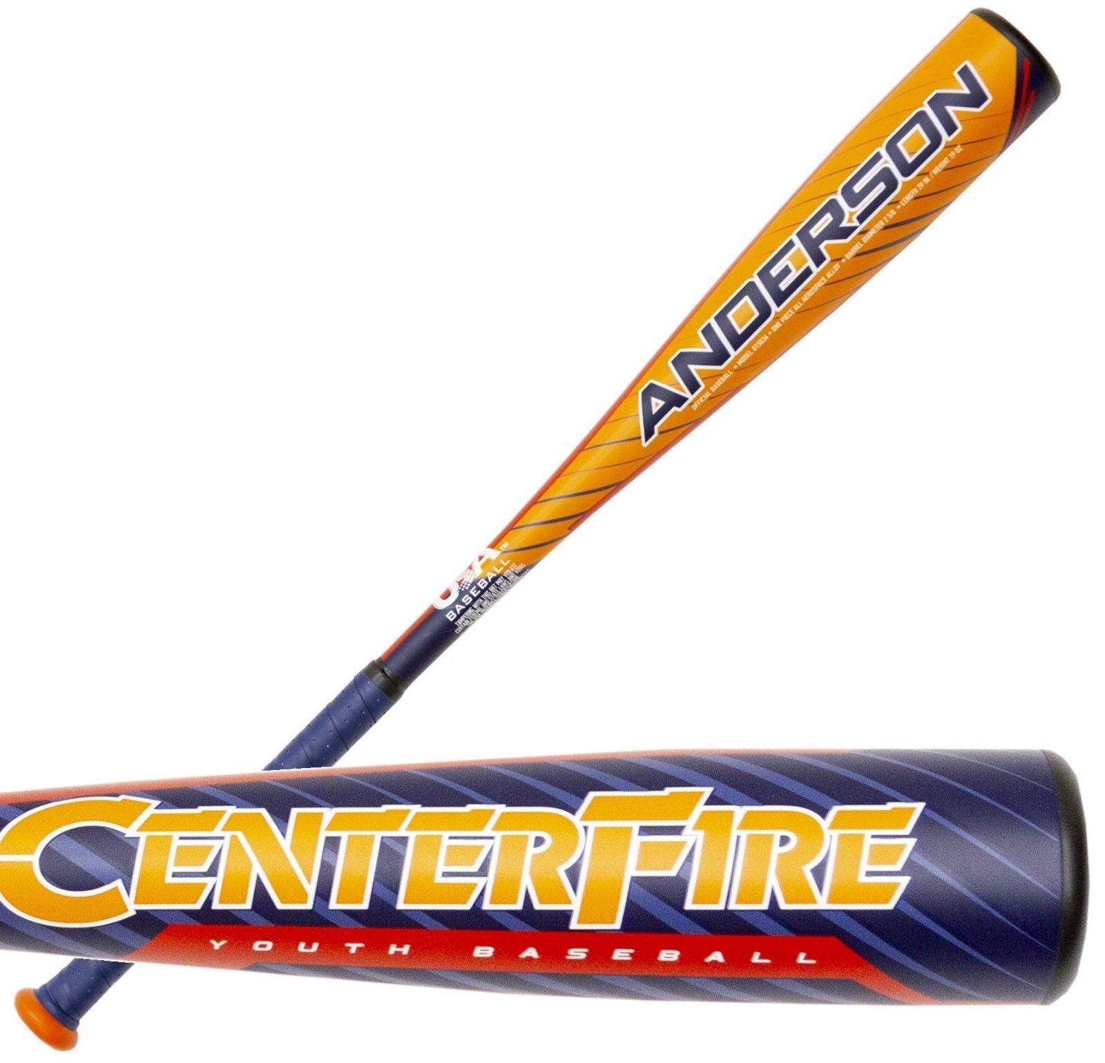 2019 Anderson centerfire, -10 29  19 OZ Juventud usa bate de béisbol 015036