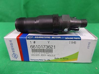 GENUINE SSANGYONG KORANDO SUV 2.9L TD FUEL INJECTOR (NOZZLE HOLDER ASSY) 1EA