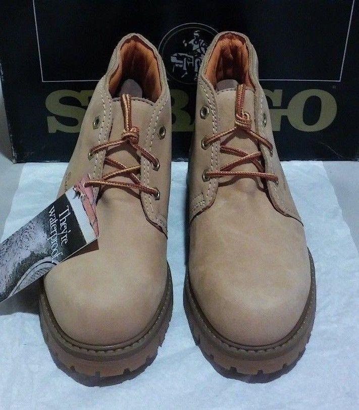 New Sebago Sante Fe waterproof boot 7.5 M tan (1960)