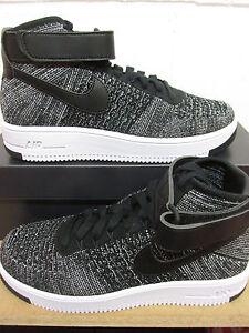 Nike Af1 Ultra Flyknit Scarpe da Ginnastica alla caviglia uomo 817420 004 tennis