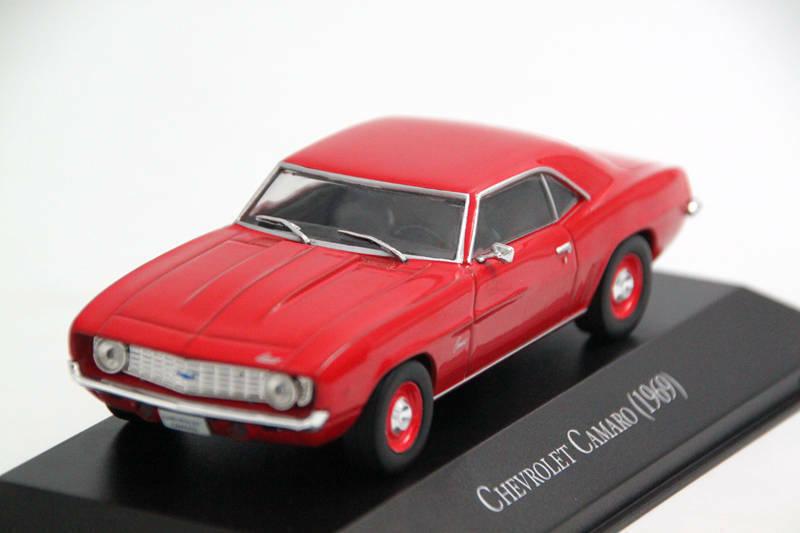 Chevrolet Camaro 1969 Mexico Sällsynt tärningskast bil skala 1 43 Ny Med stå