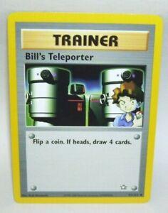 Pokemon-Card-Trainer-Bill-039-s-Teleporter-Trainer-No-91-111-1995-2000-Nintendo