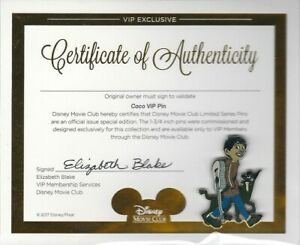 Coco-VIP-Pin-Disney-Movie-Club-Exclusive