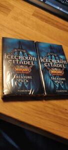 UK Seller WOW TCG LOOT ? World of Warcraft Treasure Pack Icecrown Citadel