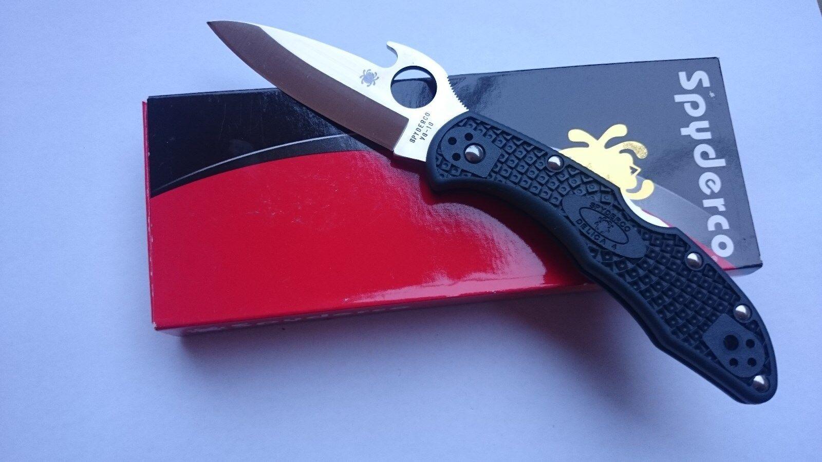 SPYDERCO DELICA 4 WAVE Lightweight Emerson Opener Taschenmesser Klappmesser