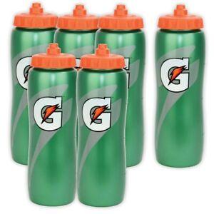 GATORADE Squeeze Water Bottle 32 OZ 6 Pack