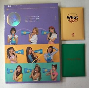 Twice-What-Is-Love-B-Ver-CD-Photobook-Photocard-Free-Order-Benefit-Gift-9Card