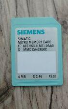 FS01 6ES7 954-8LE02-0AA0 Siemens simatic S7 MC 12MB 6ES7954-8LE02-0AA0
