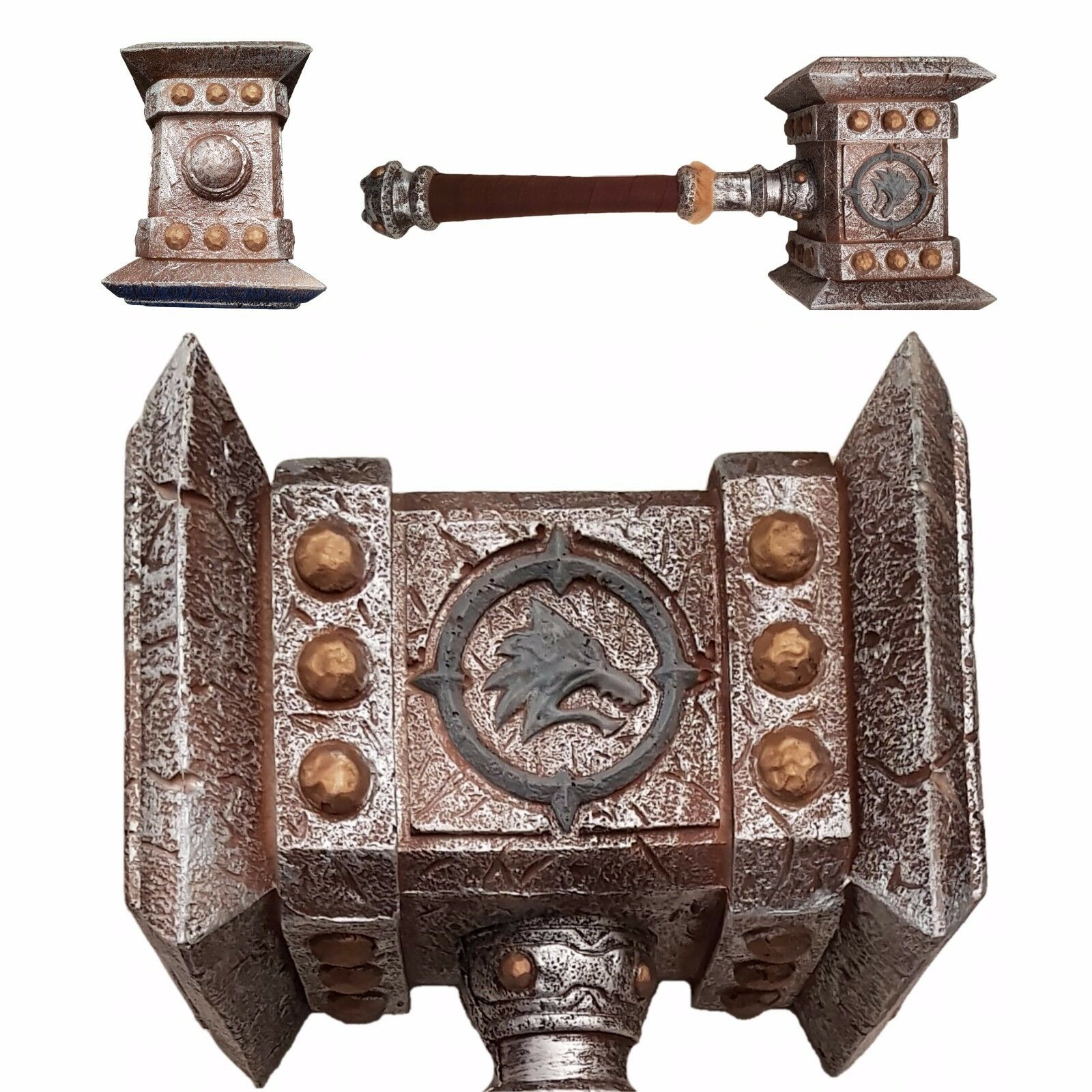 WoW DOOMHAMMER  AMAZING QUALITY SOFT FOAM WarCraft Large 56cm 1KG CosPlay LARP