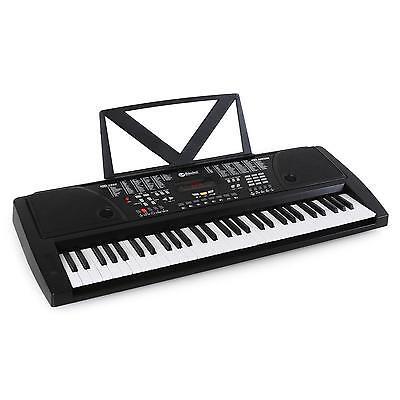 TECLADO ELECTRICO 61 TECLAS ALTAVOZ INTEGRADO PIANO ELECTRONICO GRABACION MUSICA