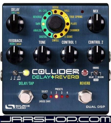 Source Audio Collider Delay Reverb Pedal New JRR Shop