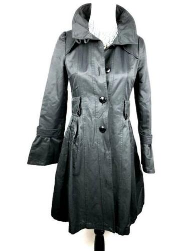 Størrelse Sleeve Black Pleated 999p Xs Down Women's Bell Jacket Guess Coat Button nTxBz4w