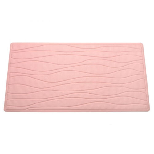 NEW Rose Pink Non Slip Rubber Bath Tub Mat Choose from 2 Sizes!