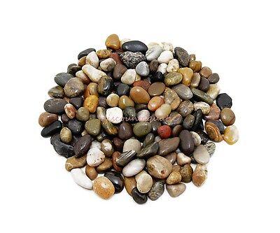 Mix Color Polished Pebble Stone Wedding Garden Aquarium Home Art Decor small