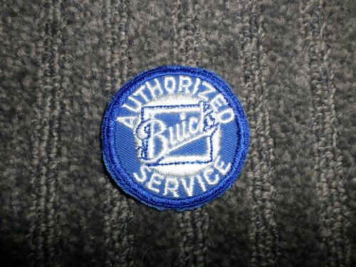 Vintage Small Buick Service Patch 2 inches round