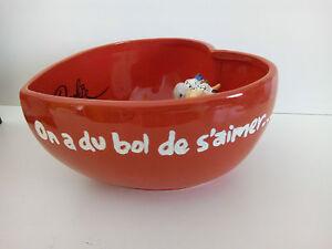 Neuf-bol-DOOKIE-VACHE-034-On-a-du-bol-de-s-039-aimer-034-love-amour-mug-tasse-cadeau-fete
