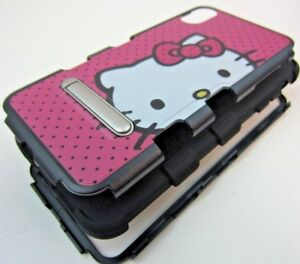 Hello-Kitty-Pink-Dots-Hard-Rubber-Hybrid-Impact-Kickstand-Case-for-iPhone-Xs-Max