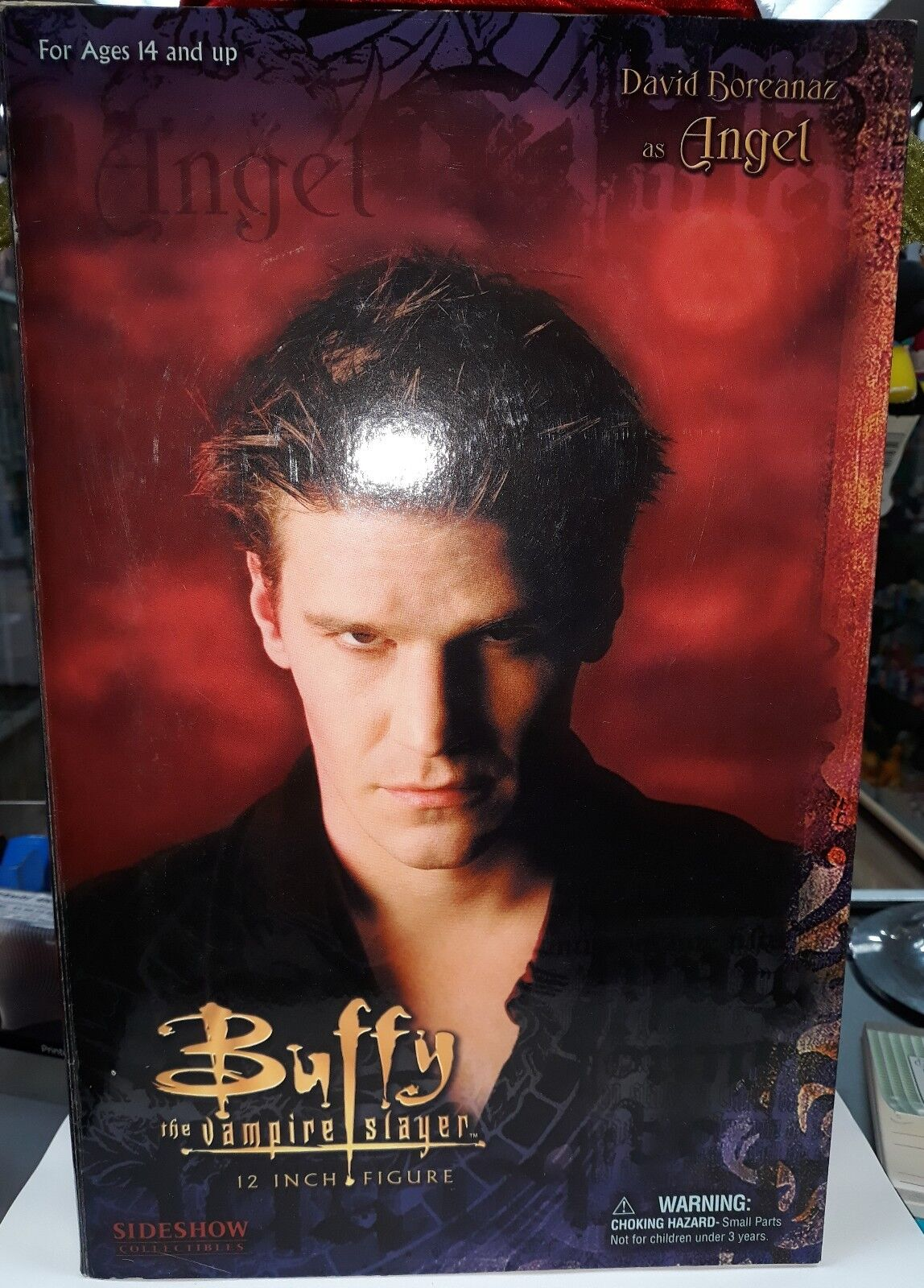 Sideshow  16 buffy the vampire slayer david boreanaz vampire angel 12 figure  réductions incroyables