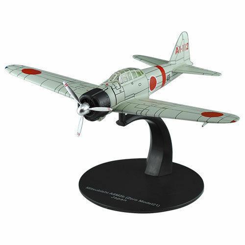 Flugzeug Mitsubishi A6M2b Zero 21-1:72 DeAgostini WW2 Militärfahrzeug G11