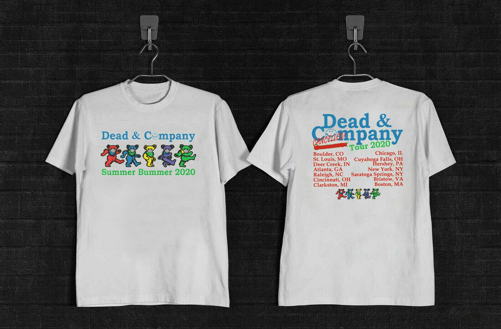 New Dead And /& Company Summer Bummer tour 2020 T-Shirt
