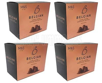 Marks Spencer Belgian Chocolate Truffles Cocoa Dusted 4