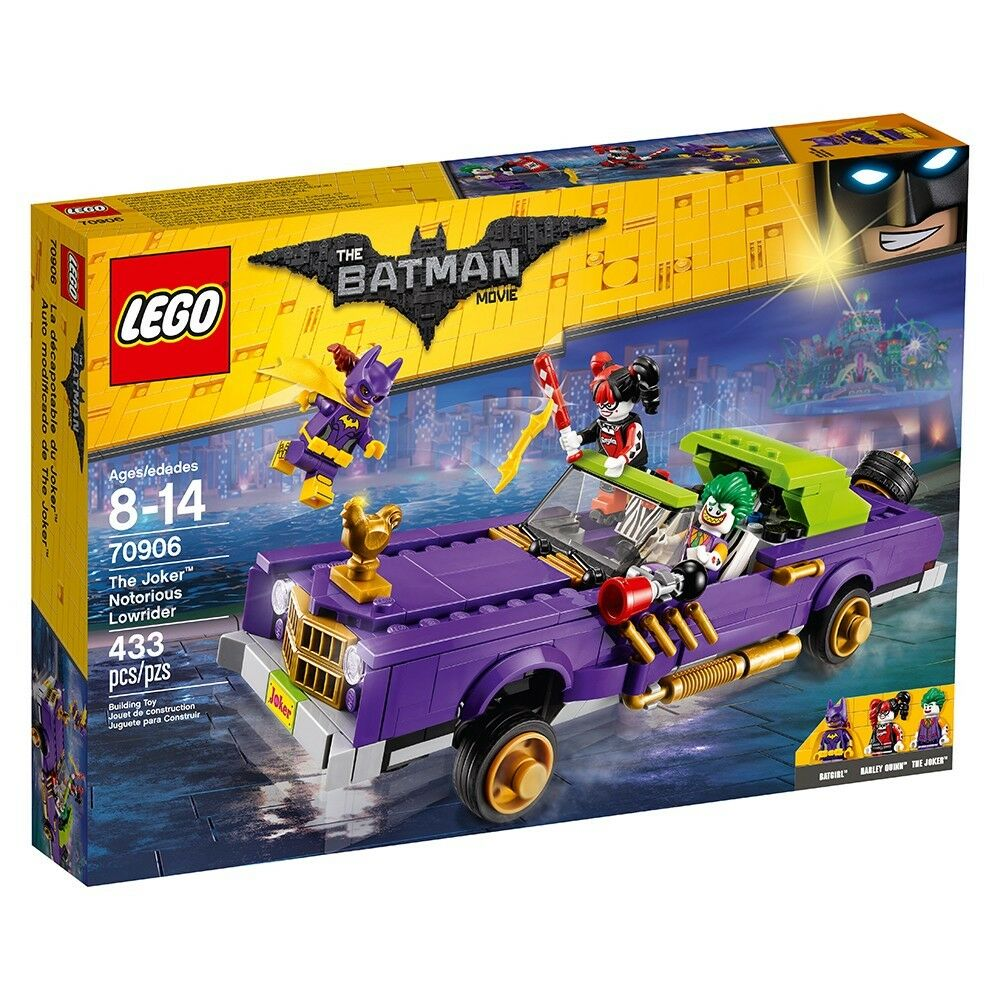 LEGO Batman Movie The Joker Notorious Lowrider 2016 Brand New in Box (70906)