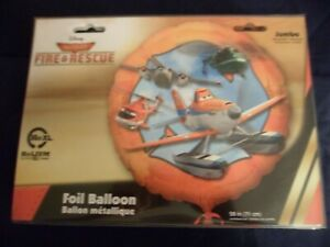 Fun-Novelty-Foil-Balloons-Planes-Fire-amp-Rescue-XL-28in-Birthday-Free-Gifts
