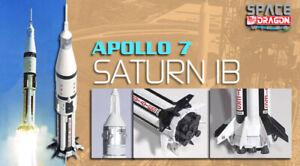 Dragon-Plastic-Model-Kits-56242-1-400-Apollo-7-Saturn-IB-finished-model