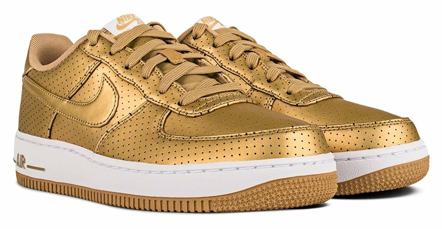 Junior Nike Air Force 1 Lv8 (GS) 820438 700 Gold