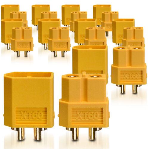 Hochstrom XT60 Stecker Buchse Goldkontaktstecker 10 Paar partCore 100140