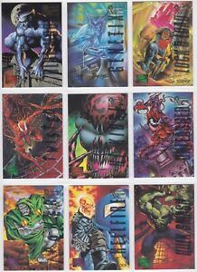1995 Marvel Masterpieces Emotion Gold Signature Series You Pick Finish Your Set