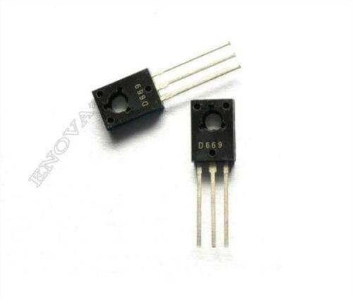 30Pcs 2SD669A Transistor Ic Neu fn