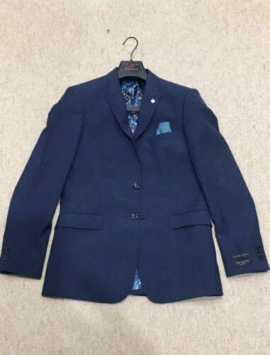 da tessuto giacca T giacca sportiva 38r italiano shirt blu uomo tessuto in moderno 5xqBYwZ