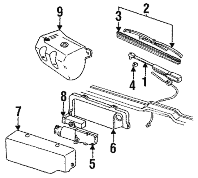 Replacement Wiper Arms
