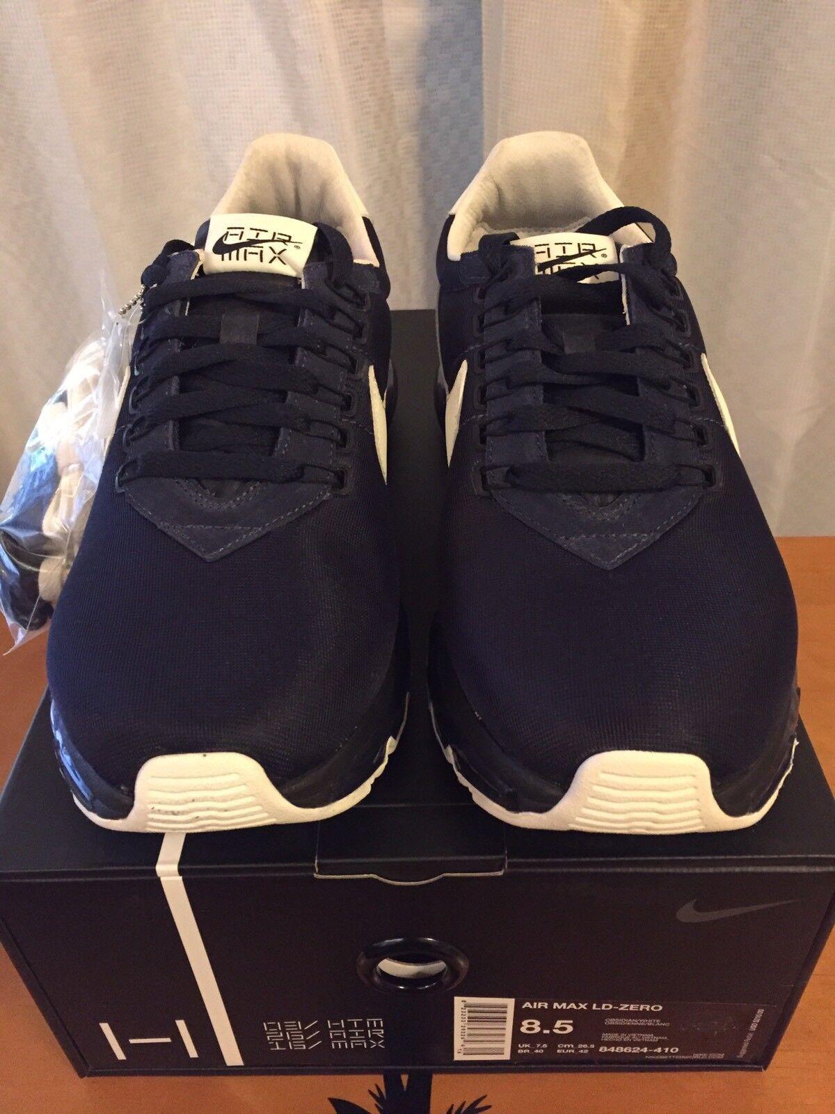 Nike Air Max LD-Zero Obsidian White HTM Hiroshi Fujiwara 848624 410 Sz 8.5