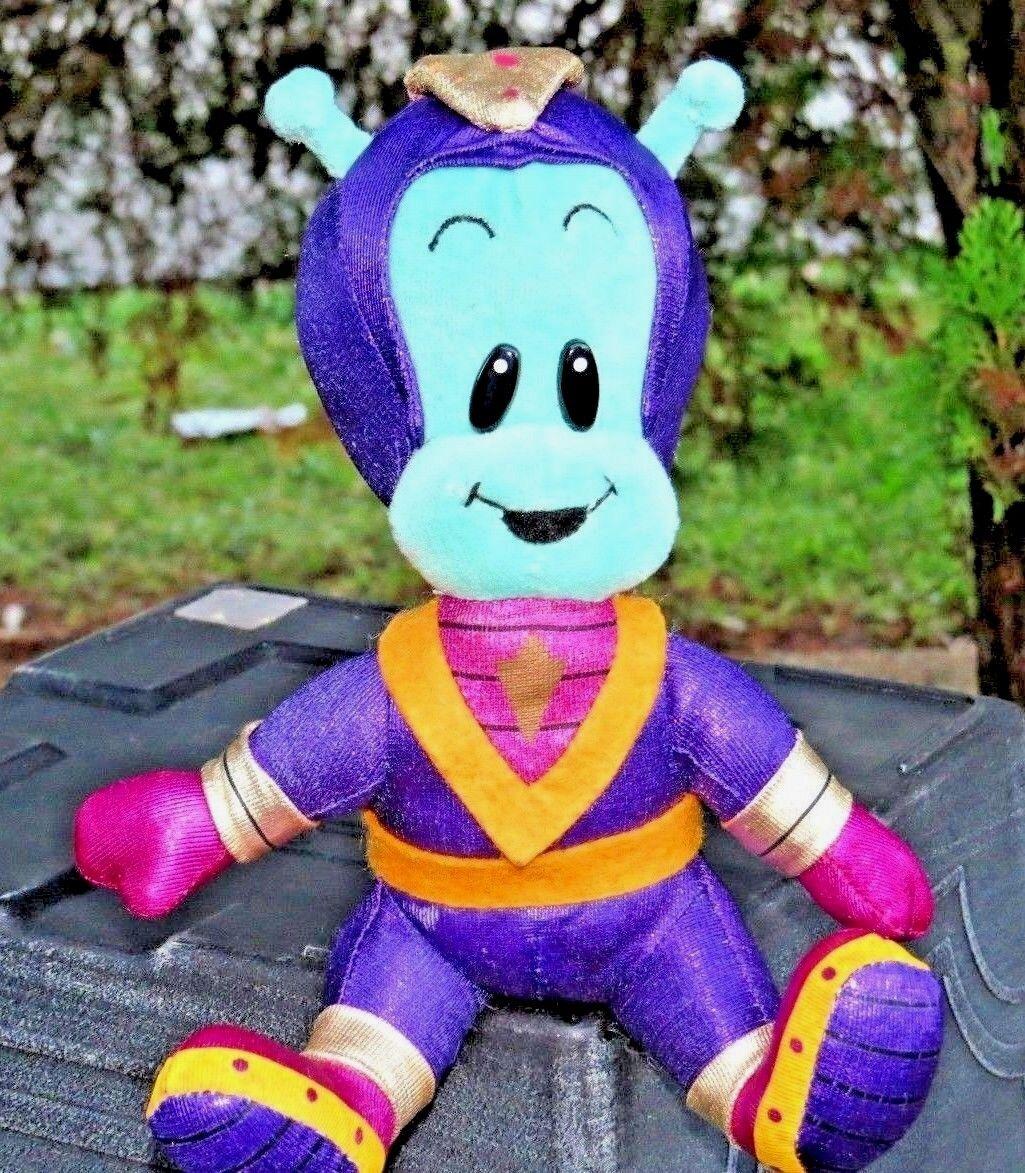 VERY RARE Cozmo LITTLE GREEN DUDE 1999 Cast Art ARTIST FRANK grey 7  Plush Doll