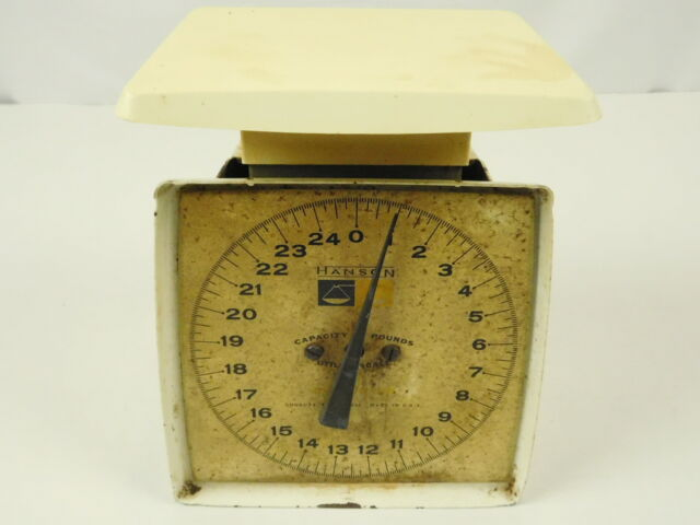 Vintage Krups Kitchen Food Scale Bowl