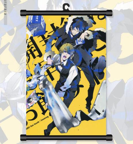 "8/""*12/"" Home Decor Japanese Anime DuRaRaRa! Cosplay Wall Poster Scroll 06"