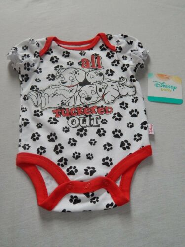 Nuevo Disney 101 Dálmatas Enredadera Bebé Body Camisa Traje Cachorro Perro Chicas