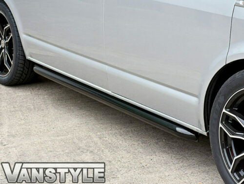VW T5 CARAVELLE SWB SPORTLINE BLACK POWDER COAT FINISH SIDE BAR OEM QUALITY