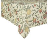 William Morris Fruits Major Oilcloth Pvc Antique Tablecloth 228cm X 135cm