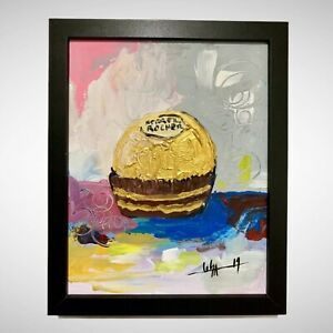 PAINTING-ORIGINAL-ACRYLIC-ON-CANVAS-FRAME-INCLUDED-CUBAN-ART-8-034-X10-034-By-LISA