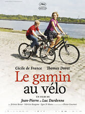 Affiche 60x80cm LE GAMIN AU VÉLO 2011 Dardenne - Cécile De France NEUVE