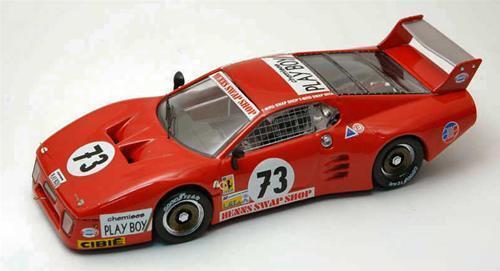 Ferrari 512 Bb Le Mans Le Mans 1982 Lanier Morin Nenn Be9323 1 43 Model