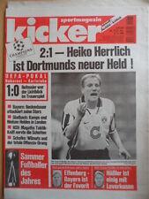 KICKER 75-12.91996 Sammer Dortmund-Lodz 2:1 Schalke-Kerkrade 3:0 Valencia-Bayern