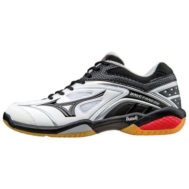 5e00686d1ca4 discount mizuno badminton shoes wave fang ss md 71ga1511 white x black x  red 74570 0301e