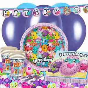 Image Is Loading HATCHIMALS Birthday Party Tableware Banners Balloons Amp Decorations