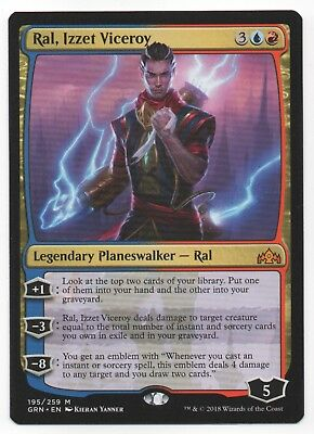 1x FOIL Thousand-Year Storm Near Mint Magic mythic Izzet Guilds of Ravnica GRN
