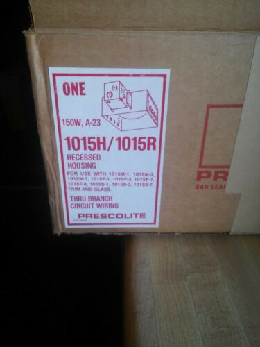 Prescolite Recessed Housing 1015H//1015R